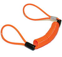 Deemeed Orange Bungee Cord Lock Reminder