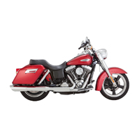 Vance & Hines Twin Slash 2 into 1 Slip Ons
