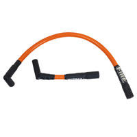Hot Fire Spark Plug Wires Orange for Twin Cam Softail Models