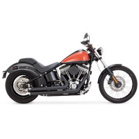 Vance & Hines Big Shots Staggered Exhaust Black