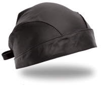 First Manufacturing Co. Black Leather Skull Cap