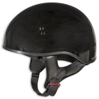 GMAX GM45 Naked Gloss Black Half Helmet