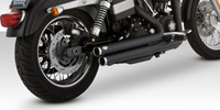 Vance & Hines Black Big Shots Staggered Exhaust