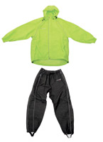 Frogg Toggs Men's Hi-Vis Green and Black Cruisin Toggs Rainsuit