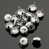 Eagle Leather Chrome 1/2″ Round Studs