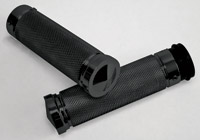 Accutronix Black Knurled Grips