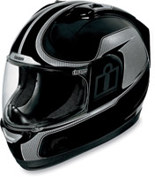 ICON Alliance Reflective Black Full Face Helmet