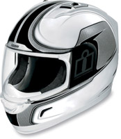 ICON Alliance Reflective White Full Face Helmet