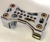 Joker Machine Chrome Series 900 Handlebar Clamps for 1