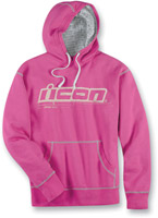 ICON Pink County Pull Over Hoodie