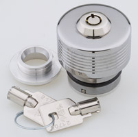 GUARDIAN Oil Protector Chrome Locking Oil Cap