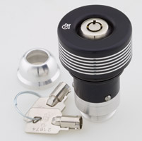 GUARDIAN Oil Protector Black Locking Oil Cap