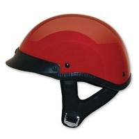 HCI-100 Designer Red Half Helmet