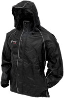 Frogg Toggs Tekk Toad Rainwear Black Jacket