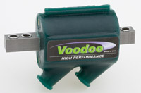 Voodoo High Performance Dyna Compatible 12-Volt Black Coil