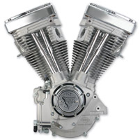 S&S Cycle V80 V Series Natural Finish Engine