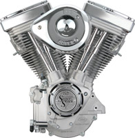 S&S Cycle V80 V Series Natural Finish Engine with Super'E' Carb