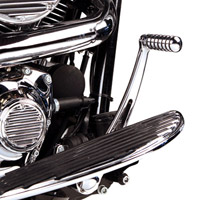 Arlen Ness Retro Chrome Brake Arm for Touring Models
