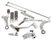 Chrome Forward Controls Kit with O-Ring Footpegs