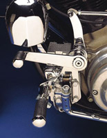Chrome Forward Control Kit for Aftermarket Calipers