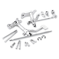 Biker's Choice Chrome Standard Forward Control Kit without Pegs