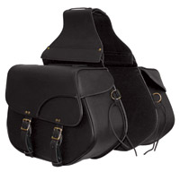 First Manufacturing Co. Throwover Saddlebags