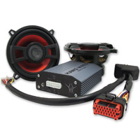 Hawg Wired Direct Connect 5-1/4″ Speaker and Amp Kit