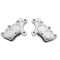 Arlen Ness Chrome Left Front Brake Caliper Housing