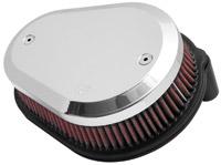 K&N Street Metal Series-Flare Custom Intake System