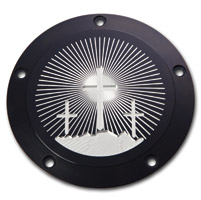 Kingdom Motorcycle Calvary Black Derby Cover