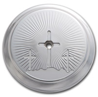 Kingdom Motorcycle Calvary Chrome Air Cleaner Insert
