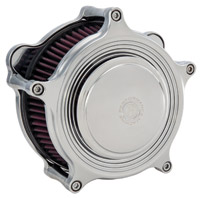 Performance Machine Super Gas MERC Chrome Air Cleaner