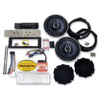 Biketronics Titan II Turnkey Sony DSX Radio 2-Speaker Kit