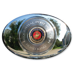 Motordog69 Air Cleaner Set with Veteran Marine Coin