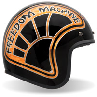 Bell Custom 500 RSD Freedom Machine Black Open Face Helmet