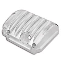 Roland Sands Design Chrome Transmission Top Cover