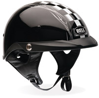 Bell Pit Boss Checker Black Half Helmet