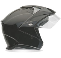 Bell MAG-9 Black Open Face Helmet