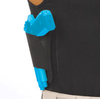 Ridge Footwear Black Left Handed Large Gun Holster