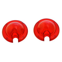 V-Twin Manufacturing Red Lens for Mini Bullet Lights