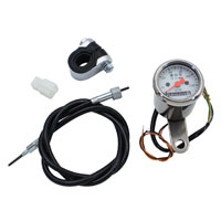 V-Twin Manufacturing Mini Speedometer Kit