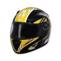 HCI-75 Blade Yellow Full Face Helmet