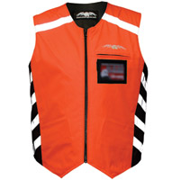 Missing Link Hi-Vis Orange Reversible Military Duty Safety Vest