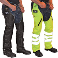 Missing Link Leather Reversible Hook Chaps