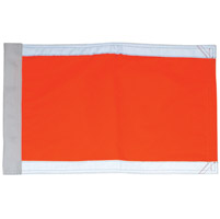 Missing Link Hi-Vis Orange Safety Flag