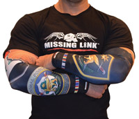 Missing Link Iraqi Freedom Vet ArmPro Sleeves