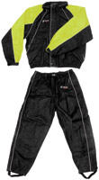 Frogg Toggs Hogg Togg Black and Lime Rainsuit