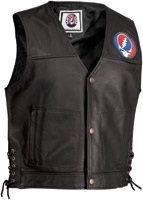 River Road Grateful Dead Steal Your Face 1965 Vest