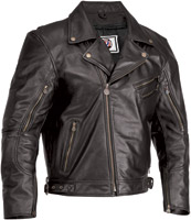 River Road Grateful Dead Skull and Roses Leather Jacket