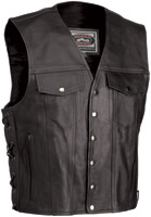 River Road Frontier Classic Leather Vest